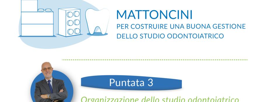 Organizzazione dello studio odontoiatrico
